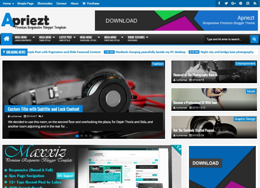 Apriezt-premium-version-responsive-blogger-template-free-download
