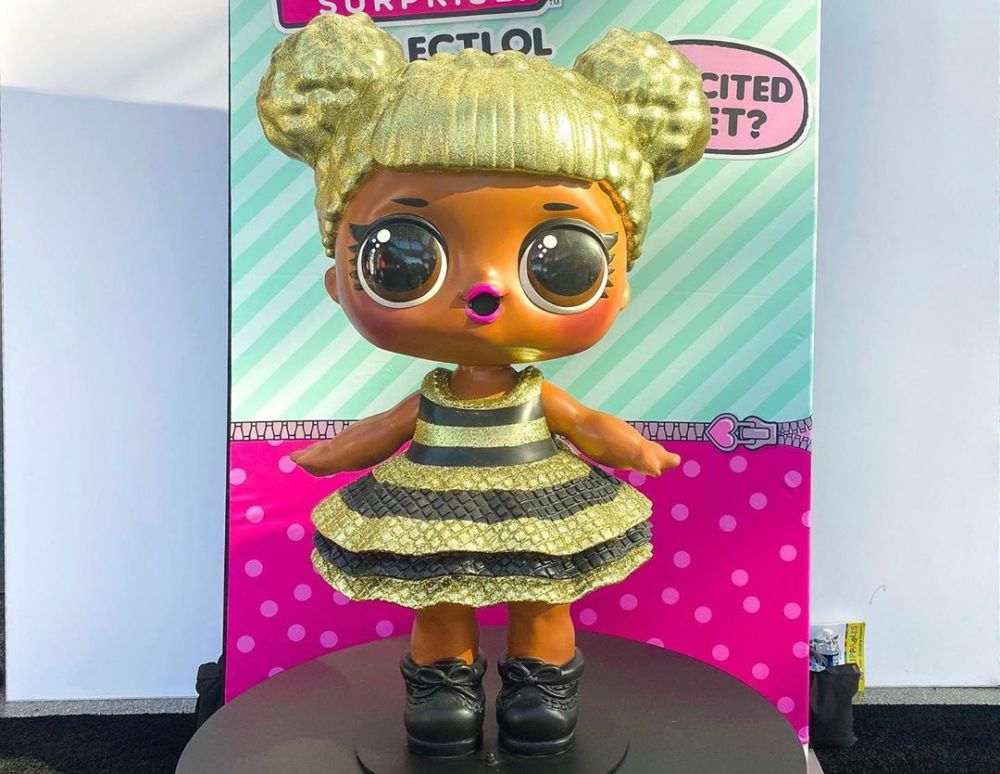 Новинки игрушек 2020 New York Toy Fair Giant L.O.L. Surprise Queen Bee