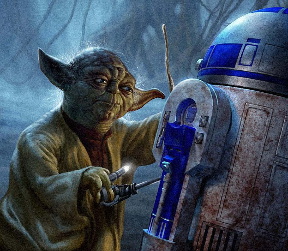 Por que a Yoda não se lembra do R2-D2 em Star Wars: O Império Contra-Ataca?