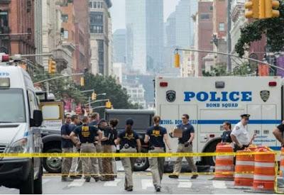 Bombas põem NY em alerta