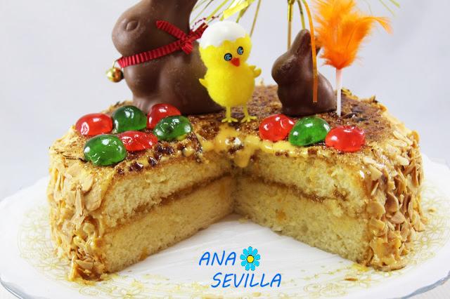 Mona de yema de pascua Ana Sevilla cocina tradicional