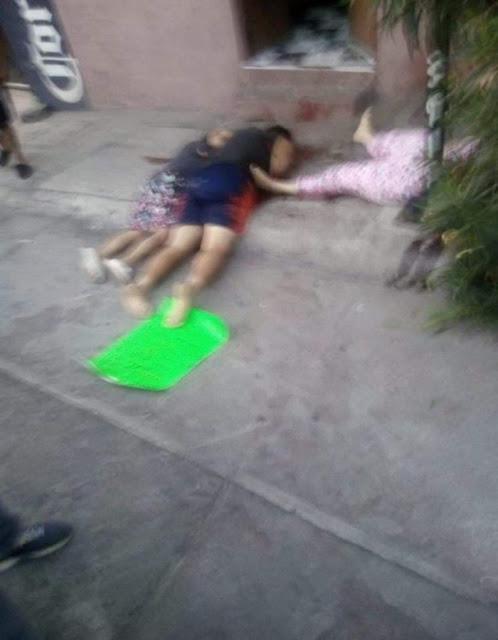 Esta mañana en Moroleon; Guanajuato Sicarios del CJNG arribaron a un hogar sacaron a sus miembros y los ejecutaron