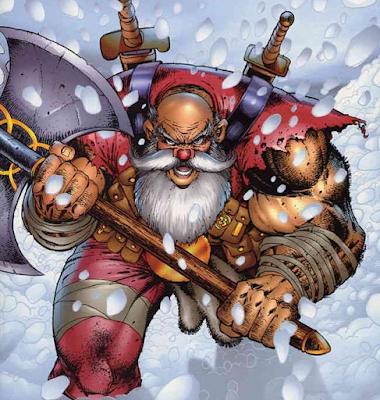 Santa Claus contra.... ¡Todo el mundo!