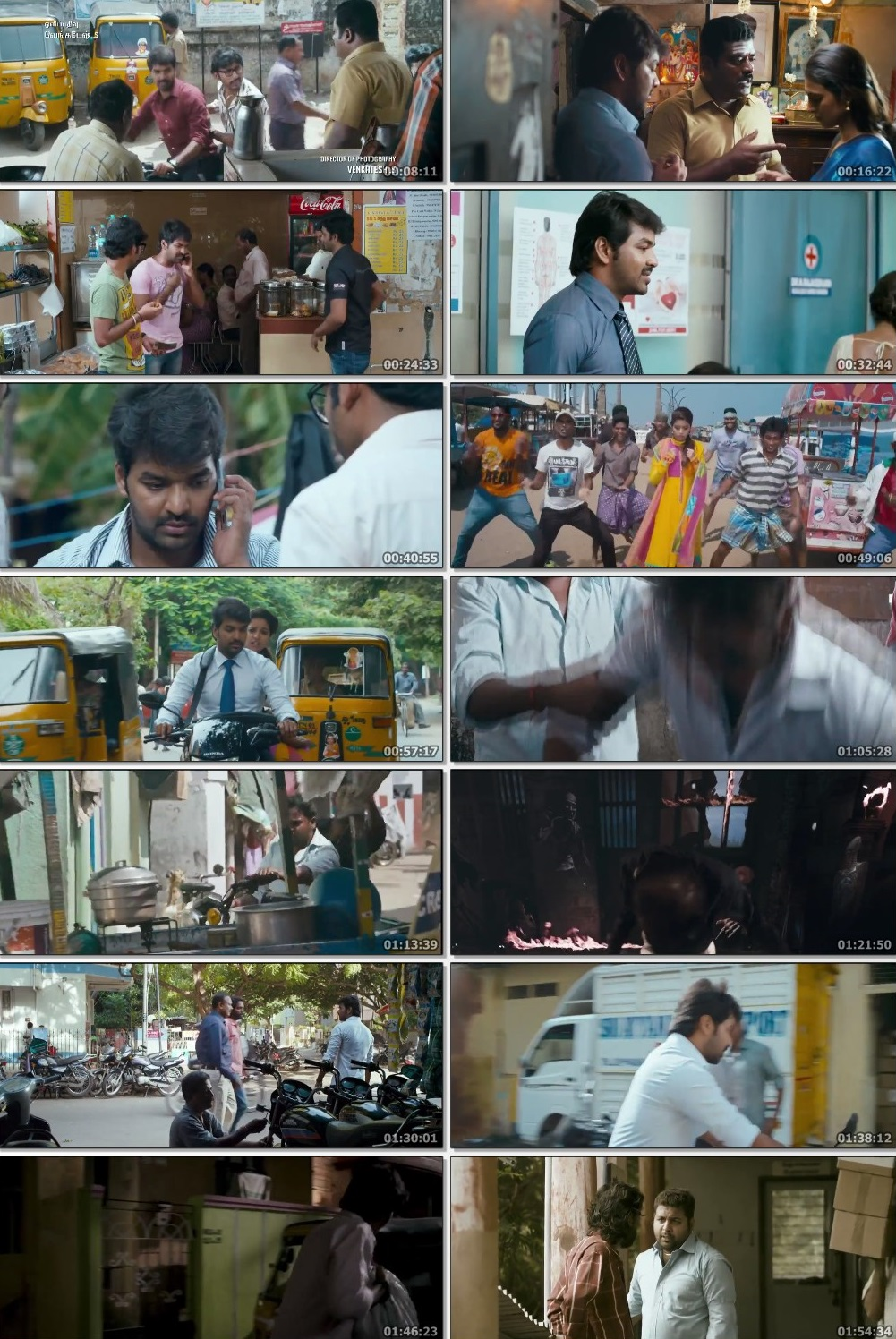 Screen Shot Of Vadacurry 2014 300MB Full Movie Hindi Dubbed Free Download 480P BRRip Small Size PC Movie