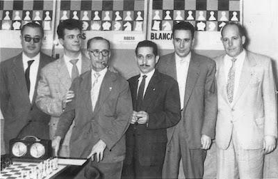 Equipo de ajedrez del Barcelona en 1960