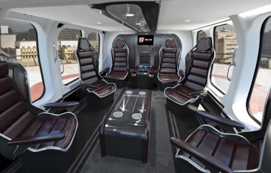 Bell 525 Relentless interior