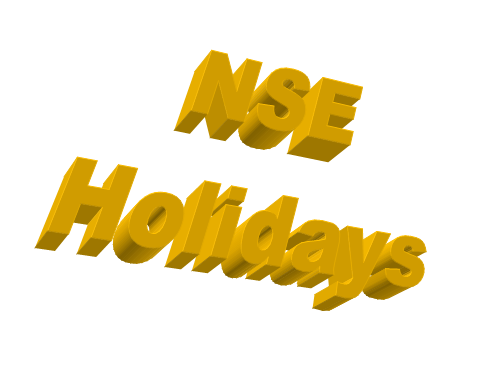 NSE holidays   Stock Market Holidays