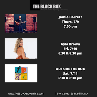 THE BLACK BOX Outdoor Concerts to Begin THURSDAY