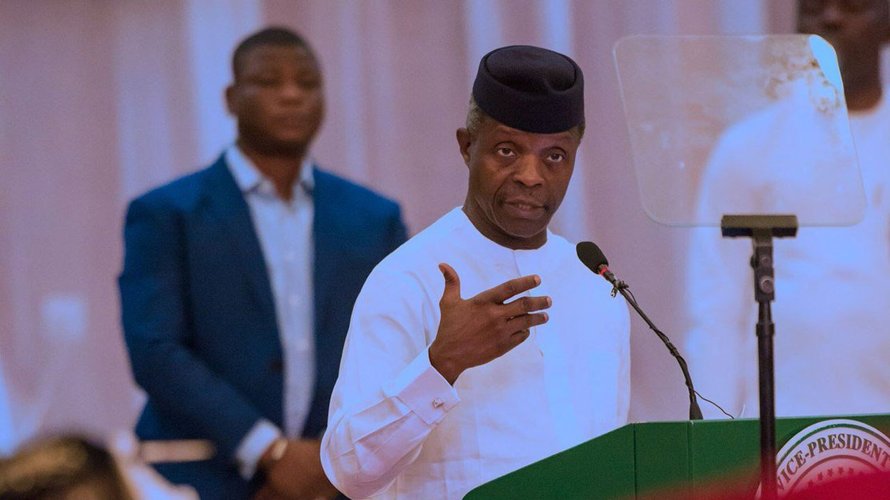 New Minimum wage: Osinbajo reveals what President Buhari will do