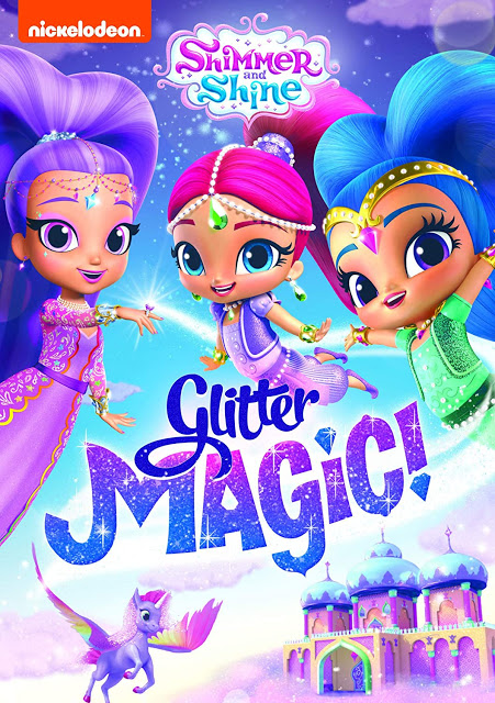 Shimmer And Shine: Glitter Magic! [2020] [DVDR] [NTSC] [Latino]