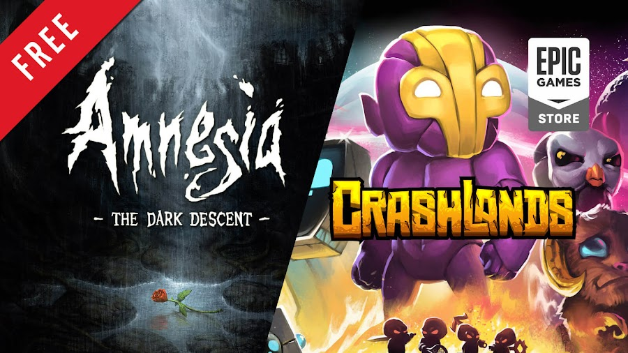 amnesia dark descent crashlands free pc game epic games store survival horror frictional games action-adventure role-playing butterscotch shenanigans