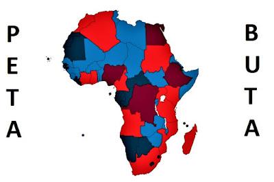 Peta Buta Benua Afrika