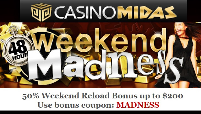 Casino Midas Weekend Madness