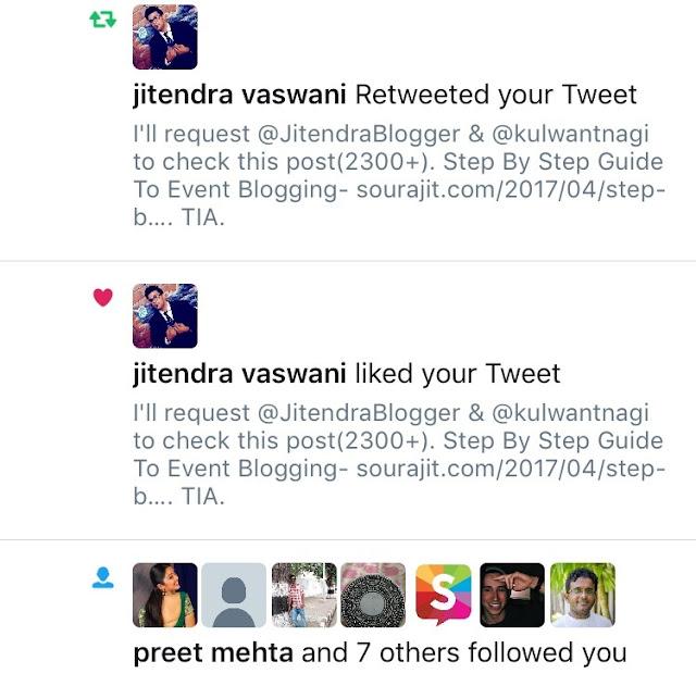 Jitendra's Retweet