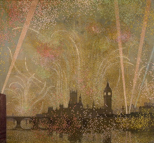 1919. Claude Francis Barry - Victory Celebrations