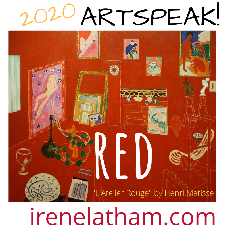 "Read a fresh ""Red"" art-poem every Poetry Friday!"