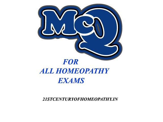 MCQ-Homeopathy