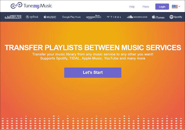 TuneMyMusic:讓在不同的音樂服務平台之間傳送、轉移播放清單,變得輕鬆愉快