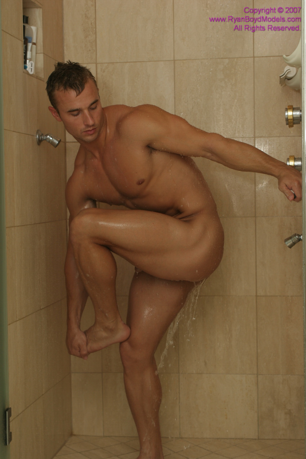 Nude Blond Male