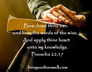 Proverbs 22:17