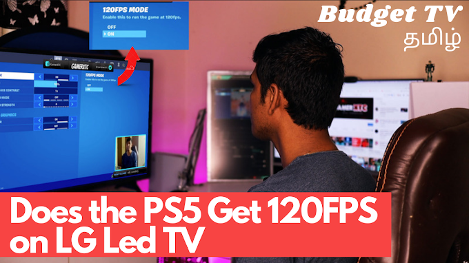 Does the PS5 Get 120FPS on My LG Led TV | Rs 34000 | Fortnite 120FPS Gam...