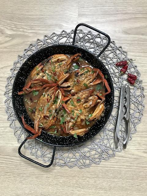 NÉCORAS o CANGREJOS EN SALSA PICANTE Chilli Crab A MI MANERA ¡Receta Fácil!