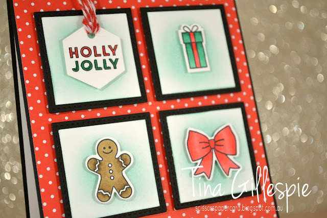 scissorspapercard, Stampin' Up!, Art With Heart, Heart Of Christmas, Tags & Tidings, Christmas Tags Thinlits, Stitched Shapes Framelits, Santa's Workshop SDSP