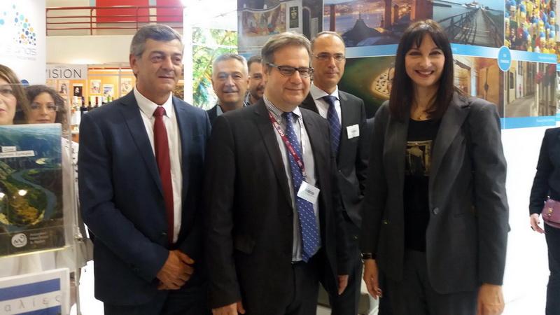 Επιτυχής η συμμετοχή της Περιφέρειας ΑΜ-Θ στην τουριστική Έκθεση Philoxenia