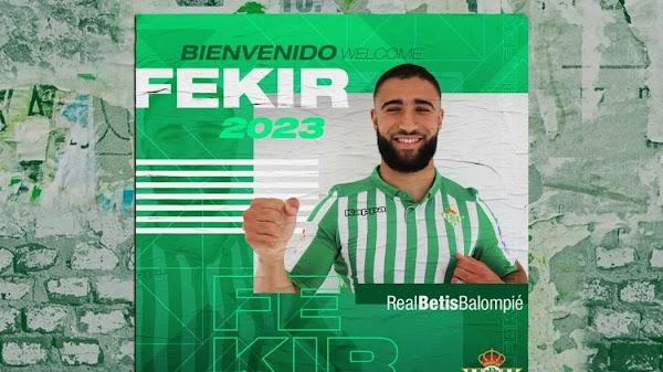 Oficial: Betis, firma Nabil Fekir