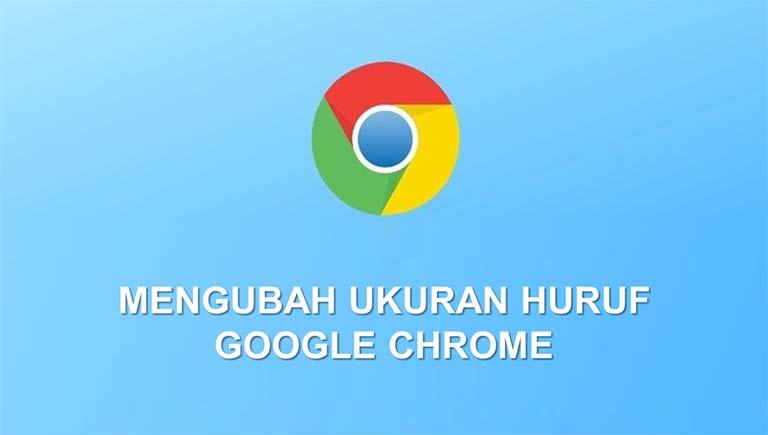 Cara Mengubah Ukuran Font Di Aplikasi Google Chrome Android