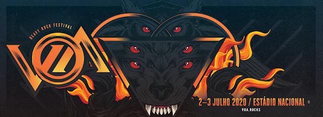 VOA Heavy Rock Festival anuncia novas confirmações