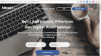 Registrasi Akun Trading Bitcoin Indonesia Bitcoin.co.id / INDODAX
