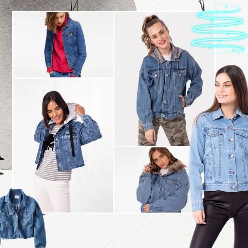 Cómo combinar casacas para mujer denim