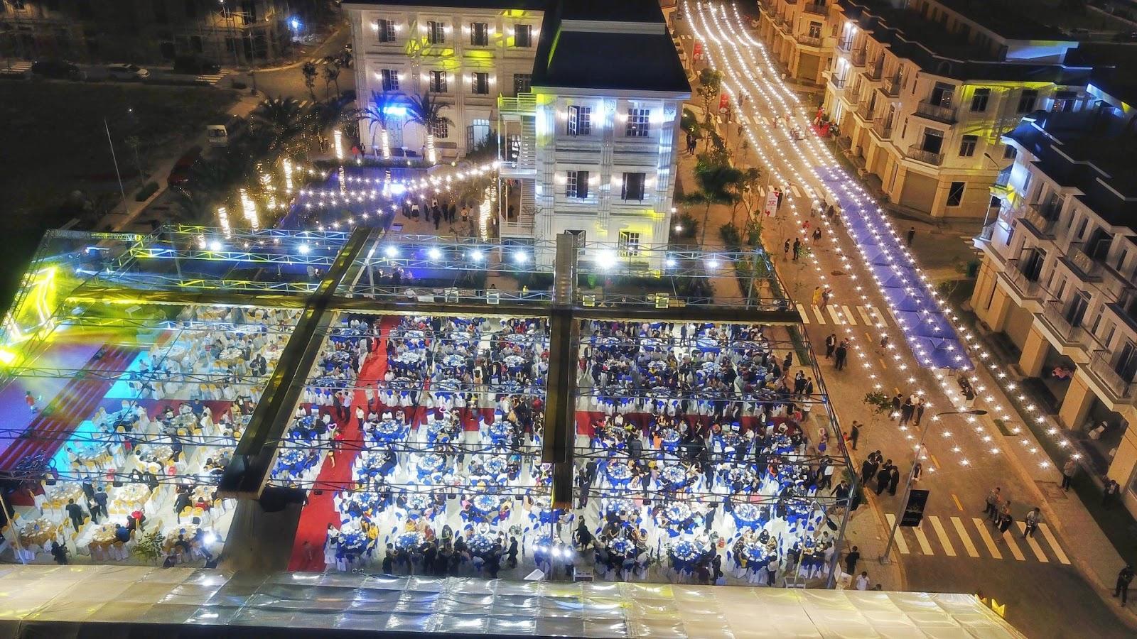Buổi tối tại Thắng Lợi Central Hill