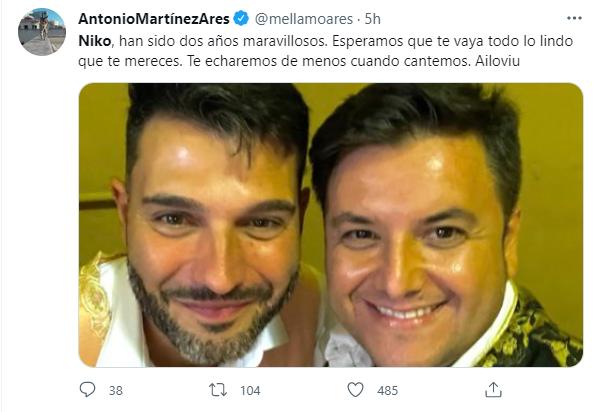 """""""Nico"""" abandona la Comparsa de Antonio Martínez Ares"""