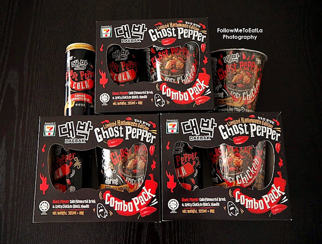 DAEBAK Presents All New #DaebakTrickAndTreat Limited Halloween Edition GHOST PEPPER COMBO PACK