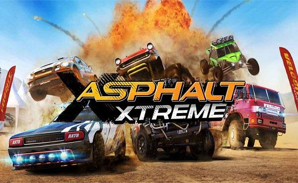 Download Asphalt Xtreme Rally Racing MOD APK Data Unlocked Game