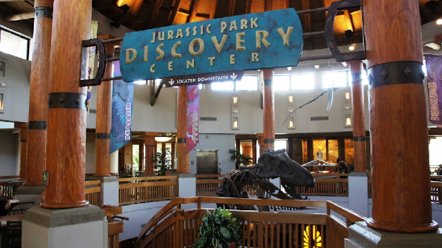 Jurassic Park Discovery Center no Islands of Adventure em Orlando