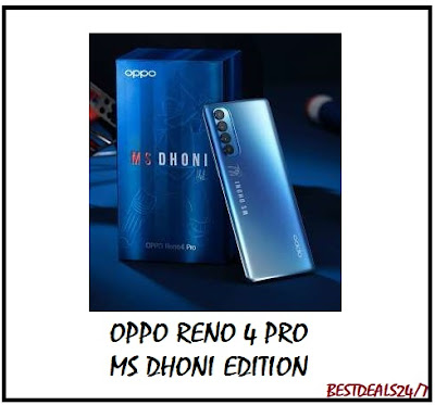 Oppo Reno 4 Pro MS Dhoni Edition Launched in India