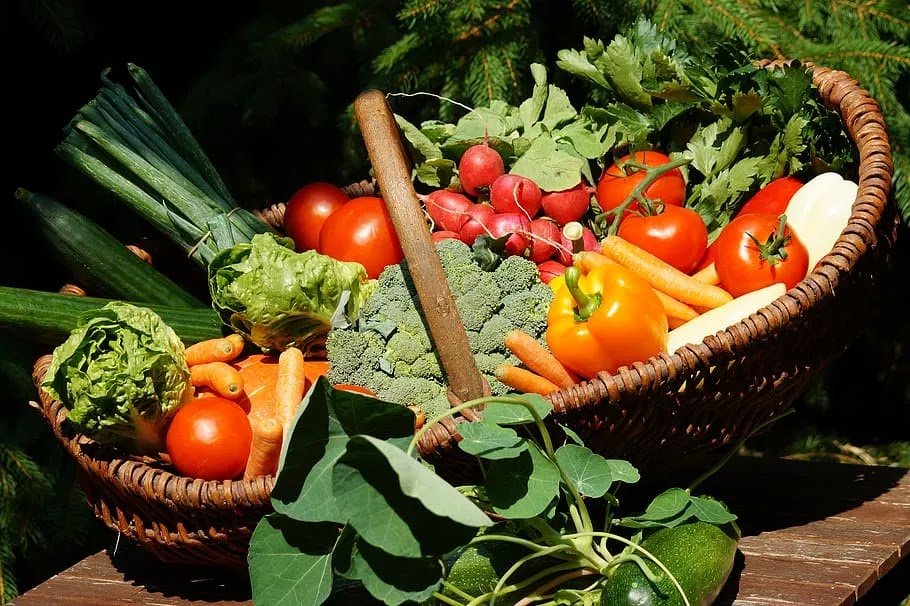 vegetables vitamins vegetable basket colorful vegetable healthy food%25281%2529 result