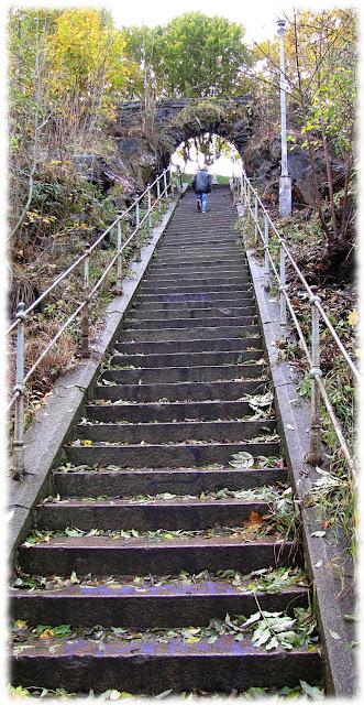 stairs Skansen Kronan gothenburg