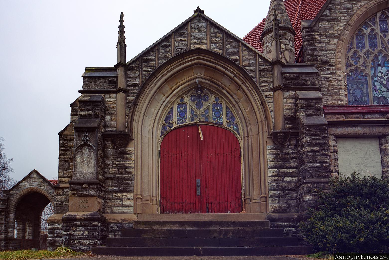 Third Presbyterian - Arched Wooden Door