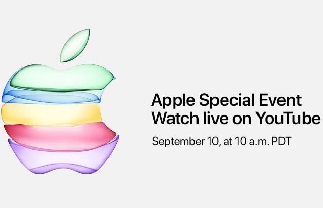 سيتم بث حدث Apple في 10 سبتمبر مباشرة على يوتيوب للمرة الأولى