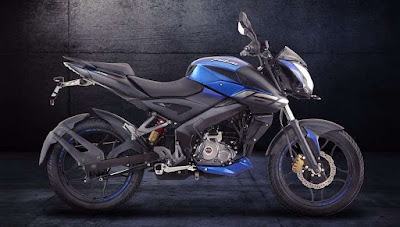 New 2017 Bajaj Pulsar NS 160 side view
