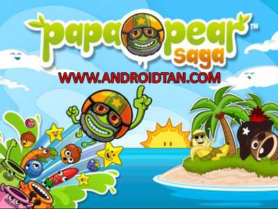 Papa Pear Saga Mod Apk v1.51.1 Unlimited Money Terbaru 2017