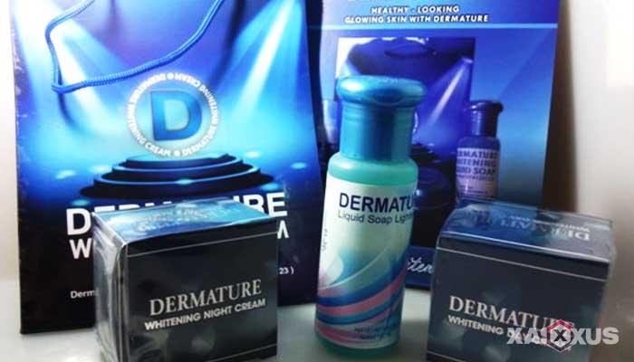 Cream pemutih wajah yang aman dan bagus - Dermature Whitening Cream