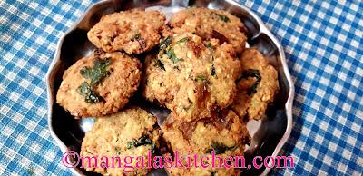 Chettinad Vazhaipoo Vadai | Plantain Flower / Banana Flower Vada | Lunch Side dish