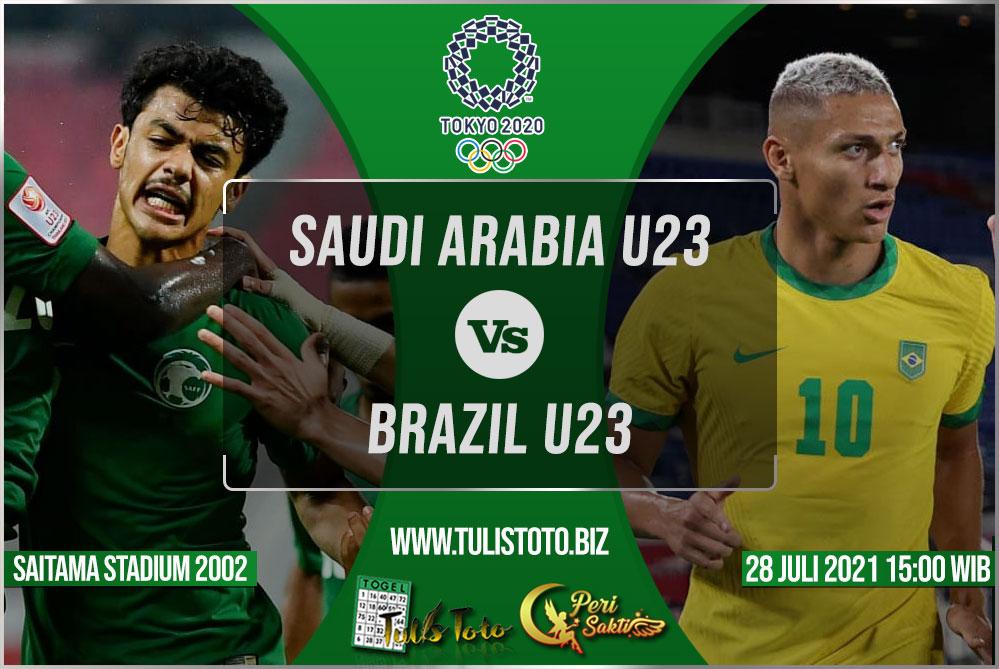 Prediksi Saudi Arabia U23 vs Brazil U23 28 Juli 2021