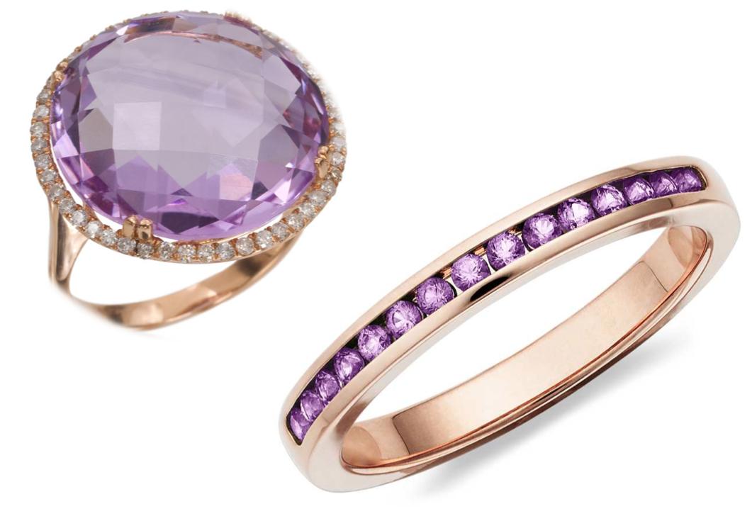 Metaf sica miami amatista el poder de la gema violeta for Joyas banadas en rodio