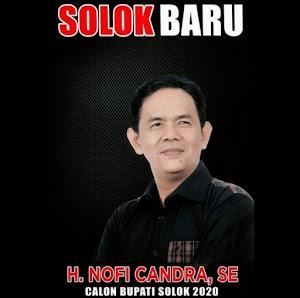 Nofi Candra: Siapapun Kompetitor, Saya Bakal Tetap Maju di Pilkada Kabupaten Solok 2020